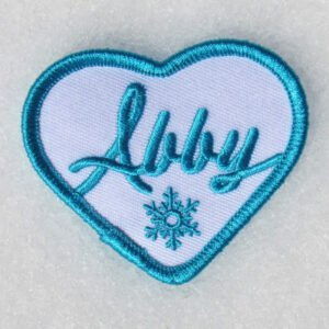 Abby Patch blue